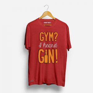 Gym and Gin Unisex Printed Tshirt