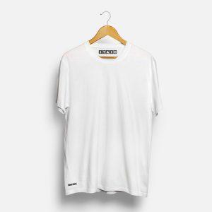 White Unisex Plain Tshirt