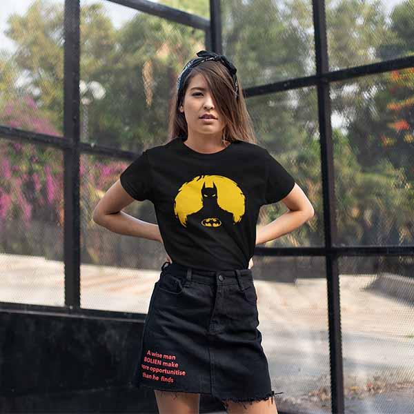 Batman Back Printed Tshirt 2