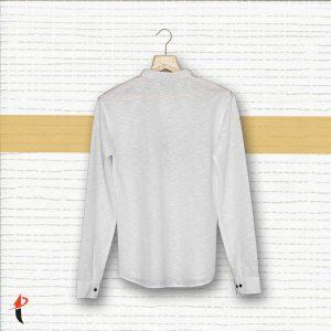 Printed Full Sleeves Shirt (White)